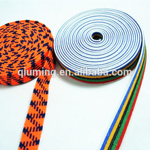 2014 fashion trimming high quality garment industrial color elastic webbing