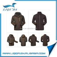 3 in 1 hooded travel camping hiking mountaineering man sport jacket winter