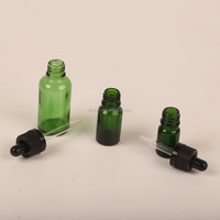 Hot Sale Round Shape Eye Drop 5ml Mini Glass Dropper Bottle For E Liquid