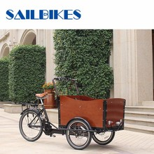 Technical Environmental Three Wheel Electric Moped Cargo Tricycles