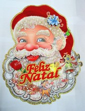 Great santa claus wall stickers 2015