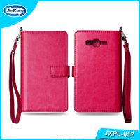 2016 New Arrival Leather Pouch Flip Cover Case for Samsung