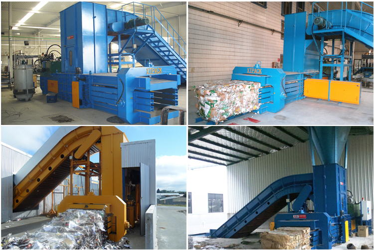 China manufcturer supply full auto paper scrap baler press OEM