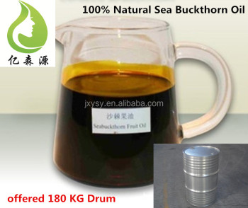 Edible Essential Oil Sea Buckthorn Fruit Oil Organic Seabuckthorn Pulp Oil Food Grade