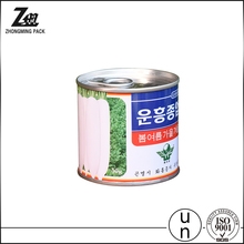 Food Grade Tin Can Easy Open Ends