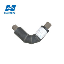 water pipe compression steel pre insuliated pipe fitting