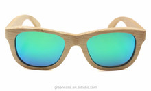 Rayband Sunglasses Wholesale Cat 3 UV400 Wood Sunglasses with Polarized Lens