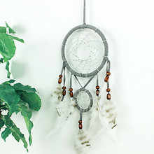IED-0059 Hot selling handmade dream catchers feather craft decoration wholesale mobile dreamcatcher