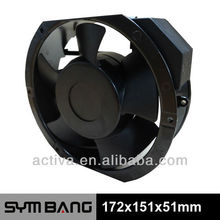 A17251-S 115v 230v high pressure temperature controlled exhaust fan