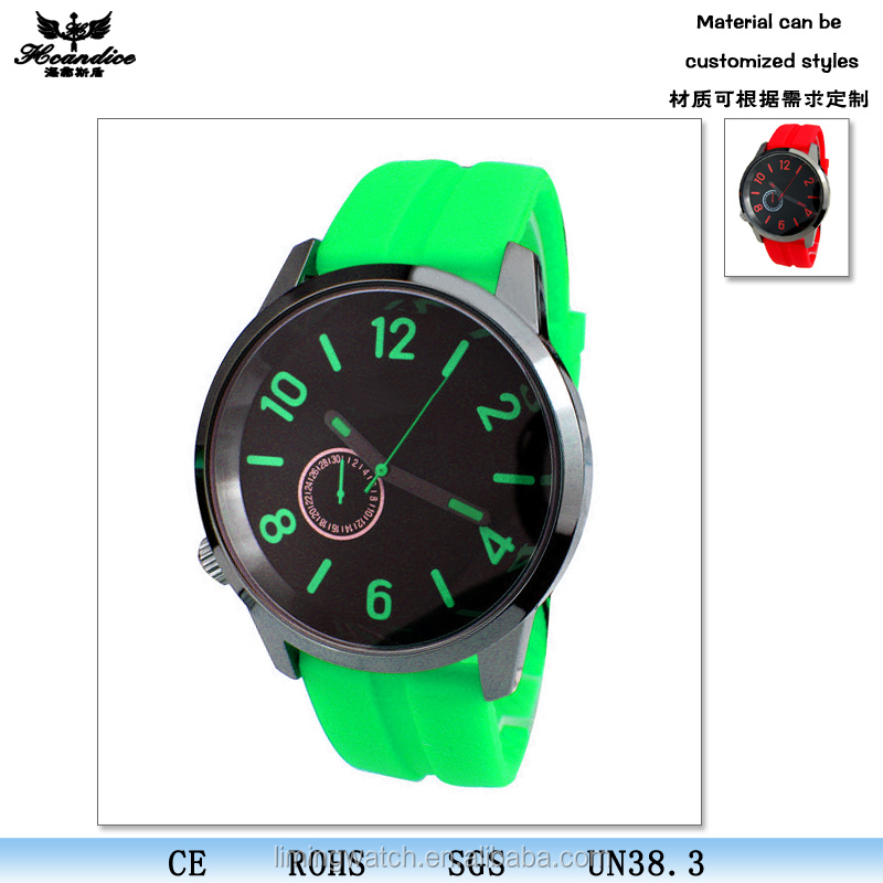 colourful cheapest gift watch OEM factory promotion silicon watch