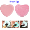 Creative Heart-Shaped Cosmetic Silicone Makeup Brush Cleaning Mat