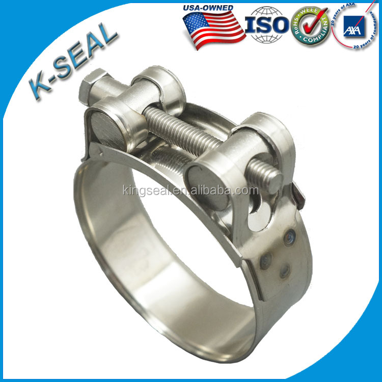 hydraulic heavy duty hose clamp
