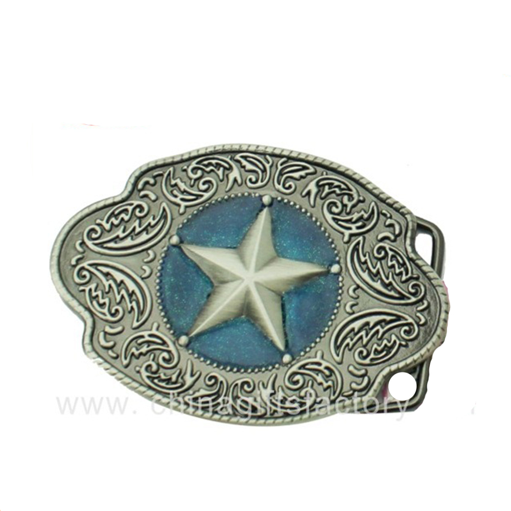 Wholesale Price Antique Blank Italian Silver Belt Buckle