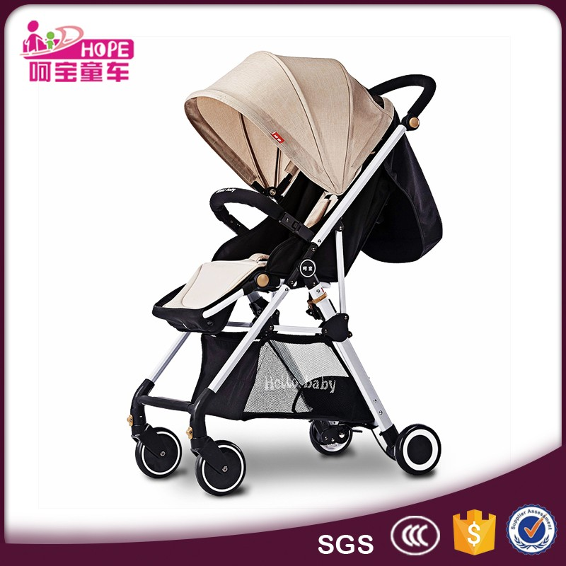 Starfish design double triplet baby stroller for two or more babies