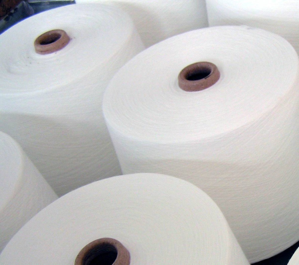 wholesale 100 pct polyester yarn for clothing sewing