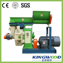 KINGWOOD Ring die 420 diameter professional small pellet machine/ biomass wood sawdust pellet mill with CE price