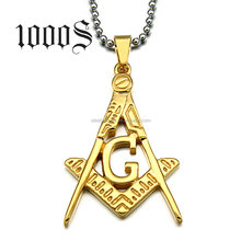 Custom Masonic Regalia Stainless Steel Pendant