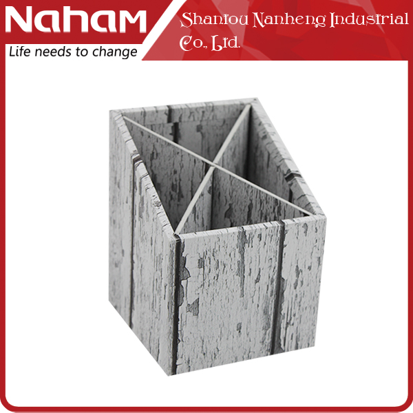 NAHAM folding sales promotion custom wooden pen holder