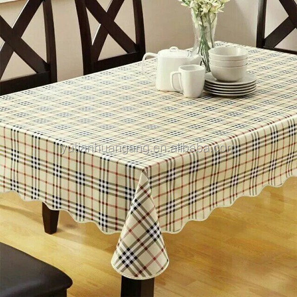 Washable Vinyl Table Cloth