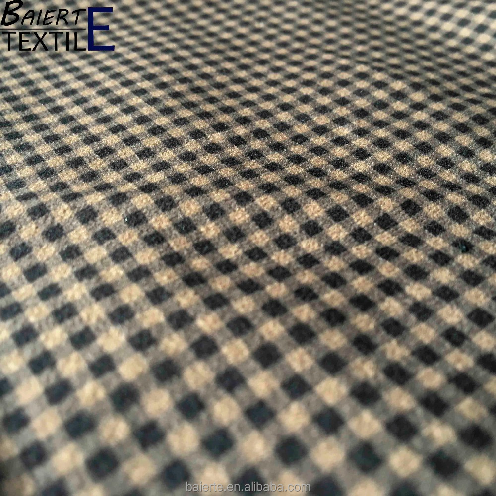 Chinese supplier newest design tartan plaid fabric