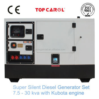 Soundproof 7.5 kva Generator Price Electric Generator Diesel with Japan Engine