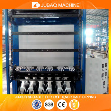 Hand glove making machine JB-SUB industrial glove latex / nitrile coating making machinery