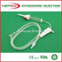 Henso Disposable IV Giving Set with Y Injection Port