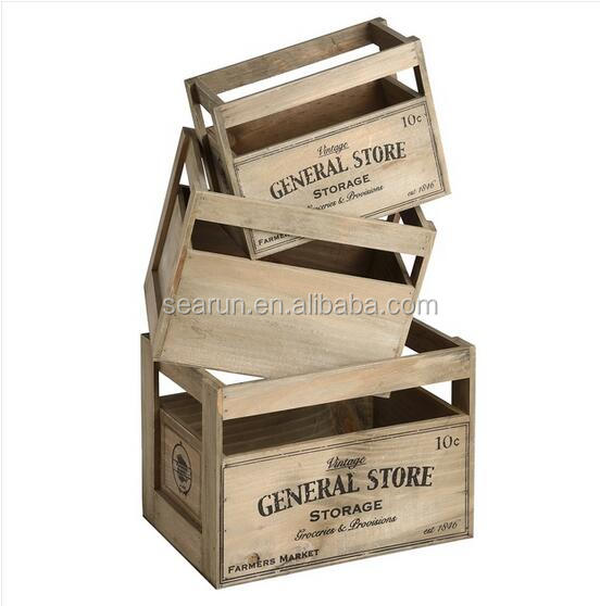 2016 vintage cheap wooden fruit crates for sale wooden for Where to buy used wine crates