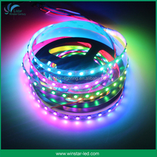 shenzhen factory 144 led digital 5V 12V addressable ws2813 ws2812 ws2812b led strip