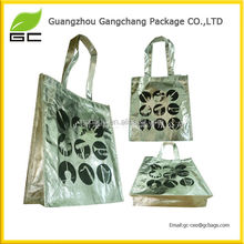 Full color printing pp non woven laminated shopper bag