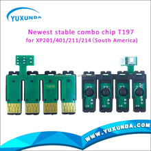 Newest XP211 chip/XP214 chip /XP201/XP401 ARC chip/unlimited chip used in upgrade printer T1971/T1962-64