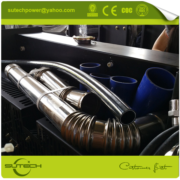 Copper core water radiator for KTA38-G2 engine