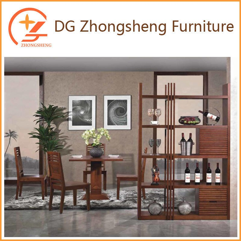Living room furniture wood display cabinet in stock KM03
