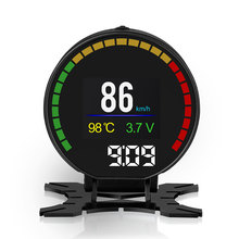 New Arrival Auto Meter OBD OBDII Display RPM Water Temp Turbine Press Fuel Boost Gauge For Car
