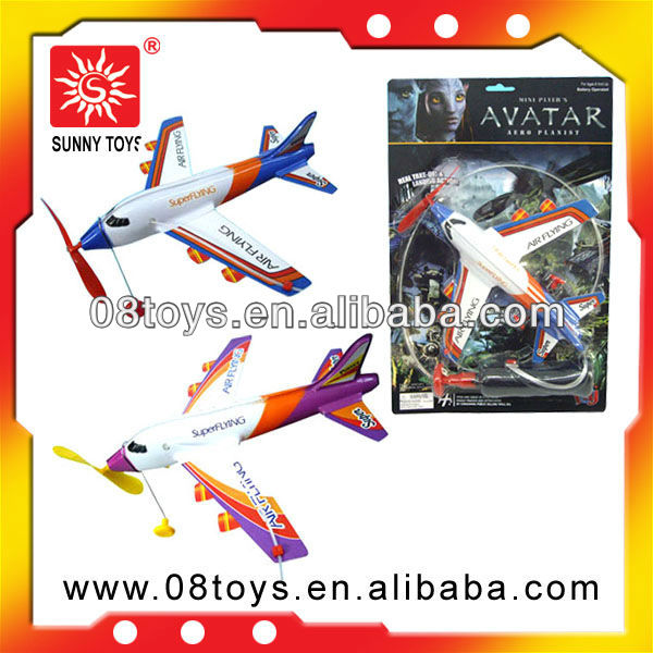 diy plastic electric flying toy battery operated toy plane for big kids