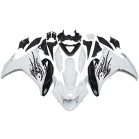 Complete Fairings For Yamaha FZ6R 09 10 2009 2010 ABS Plastic Motorcycle Fairing Kit Body Fittings White Body Kit New