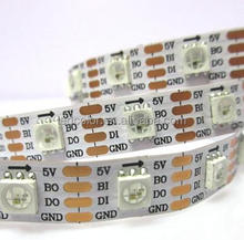 High Quality Adddressable Dual signal WS2813 RGB LED Strip 30led/m 60led/m 72led/m 144led/m