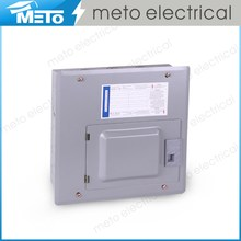 Meto outdoor tye type 12 way single phase house residential load center control panel box distribution board