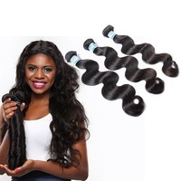 Best Selling Unprocessd Virgin 7A 16 Inches 3Pcs/Lot Virgin Indian Hair Wholesale