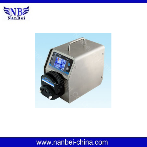 Can directly input datas peristaltic hose pump easy to operate