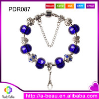 Trendz Jewelry PDR087 Personalized Key Chains Pendant Charm Bracelet