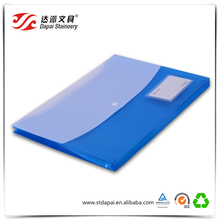 Hot New A4 Landscape l Shape Plastic PP File Folder