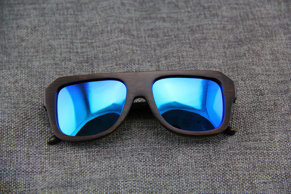 China factory wholesale and promotion handmade wooden sunglasses