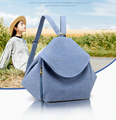 2017 Wholesale Shoulder Bag Waterproof Handbags ladies Casual Simple Canvas Travel Small Backpack