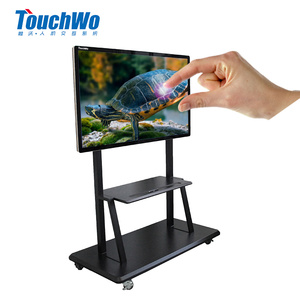 55 60 65 inch wall hanging all in one touchscreen computer / touch screen advertising displays