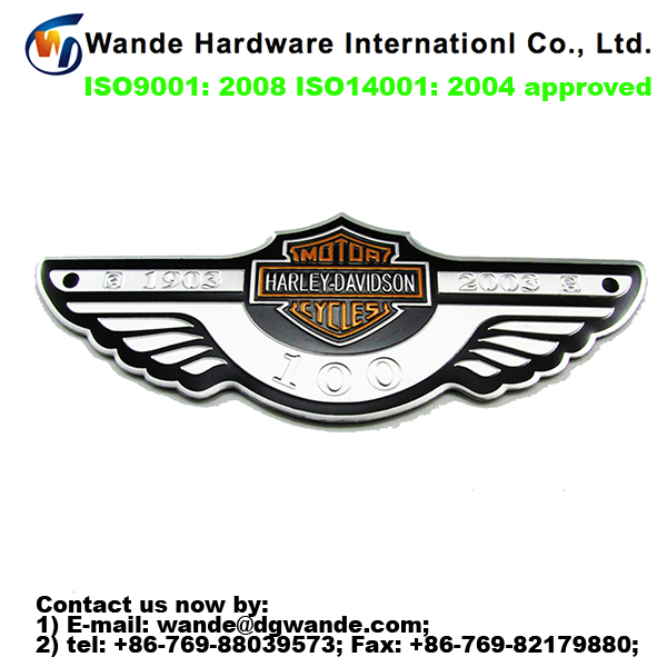 custom design foreign car logo price, car bonnet sticker, all car name and logo
