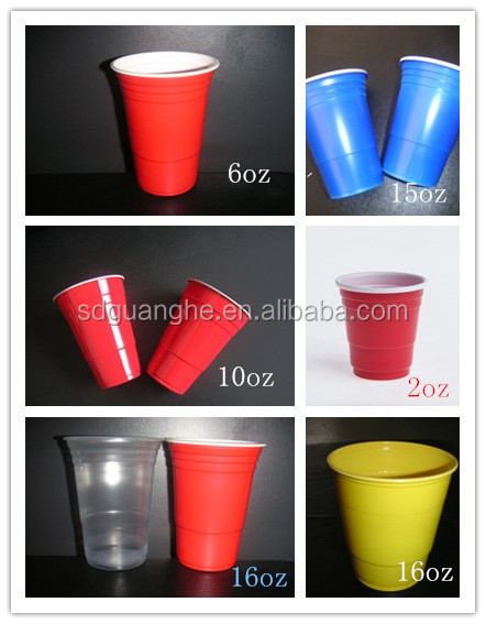 425ml disposable plastic drinking cup of PP