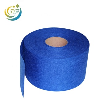 Reliable fabric suppliers durable nonwoven material of 120gsm polyester needle punched nonwoven fabric