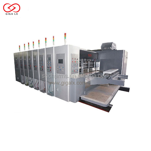 Corrugated Carton Machine Automatic Rotary Die Cutter for saler
