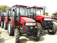 hot sale high quality 4wd 50hp agricultural tractor